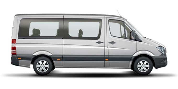 Midi Van, 12 человек - 500 грн<br> 14 грн/км<br>5 грн/минута грн/час